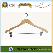 Antique Plywood Wooden Pants Hangers para roupas