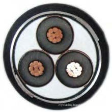 XLPE Insulated and PVC Sheathed Armored Mv Power Cable 6~35kv