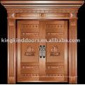 Luxus Kupfer Tür Villa Tür Außentür Doppeltür KK-703