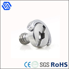 Tornillos de cámara cautivos de precisión de acero inoxidable
