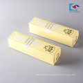 Printed logo cheap wholesale liquid lipstick small folding paper packaging box