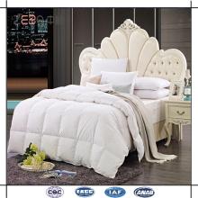 Горячая распродажа супер мягкой начинкой из микрофибры, заполняющей 3 звезды отеля, использовалась белыми стегаными пуховыми одеялами