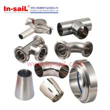 Raccord de tuyau de pièce en t de soudure de polissage d'acier inoxydable de DIN pour l'eau