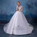 Vintage High Neck Wedding Dress Bridal Gown Muslim Wedding Dresses China