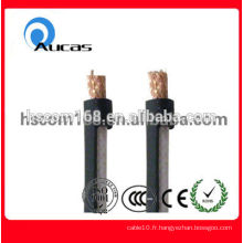 Vente en gros à bas prix de perte de retour RG59 câble coaxial haute vitesse pour CCTV CATV MATV