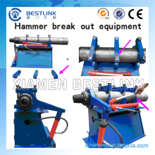 Hammer Disassembling Tools DTH Breakout Bench