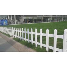 Clôture de jardin blanc à prix élevé de haute qualité