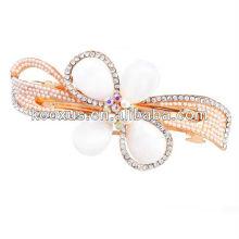 Hochwertige Perle Rhinestone Kristall Haarclip Schmuck