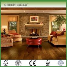 Pueblo Brown Hand-scraped Walnut Engineered Wood Flooring