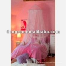 Дизайн девочек кровать козырек москитная сетка и дверь навес для DRCMN-1