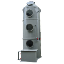 Exhaust gas treatment equipment ----washing tower