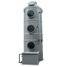tour de lavage de système de traitement des gaz industriels