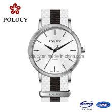 China reloj fabricante OEM mujeres reloj Nylon