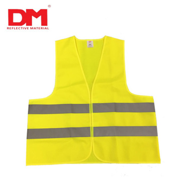 High Visibility Knitted Safety Vest with 2H Pattern