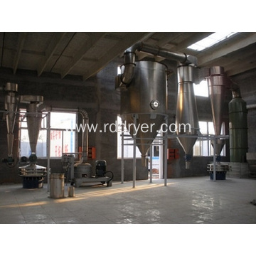 Flash drying machine of triticin