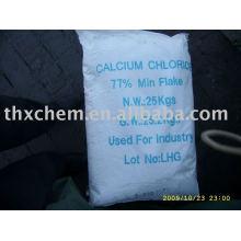 Escama de cloruro de calcio 77% min