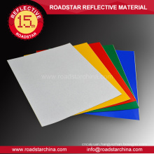 Specialized acrylic reflective sheeting material