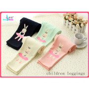Fashion Children Kids Printing Cute Rabbit Cartoon Leggings Panties Pantyhose Tights Pants (SR-4008)