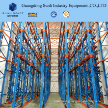 Drive in Deep Lane Pallet Rack Shelving Units