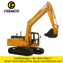 0.8-0.93m3 Bucket Capacity Excavating Machine