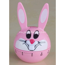 Personalized Printed Rabbit Shaped Kitchen Timer