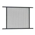 Ventilation door grille and window grille