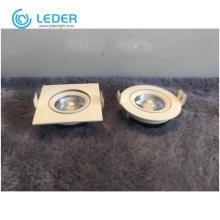 LEDER Shapes Warm White 3W LED Downlight