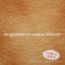 Structural Durabilities Thick Sipi Leather for Sofa (Hongjiu-618#)