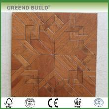 Украшения из тикового дерева, паркетный Деревянный пол плитки