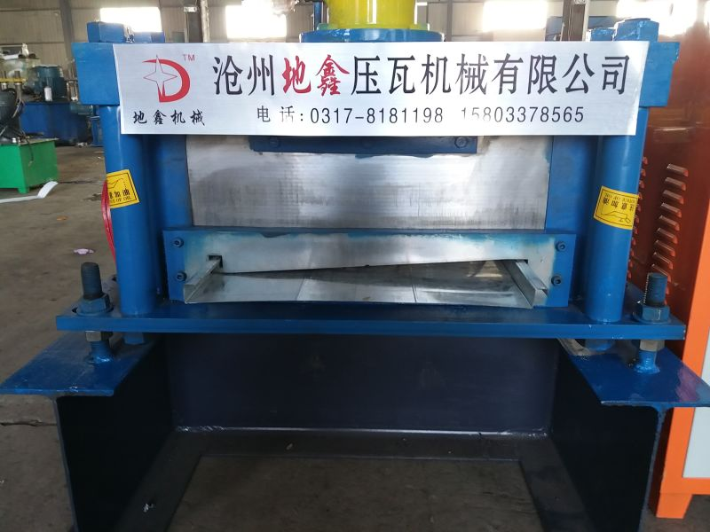 Siding wall colored roll forming machine