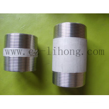"2-1/2"" Stainless Steel 316L DIN2999 Barrel Nipple From Pipe"