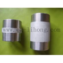 """4 """"aço inoxidável 316L DIN2999 Barril mamilo"""