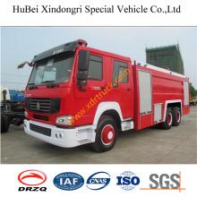 12ton Sinotruk Foam Fire Truck Euro3