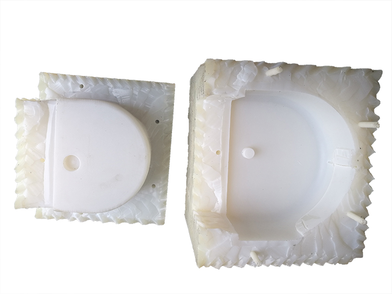 Vacuum casting prototyping silicone rubber