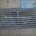 Grille de vidange galvanisée, grille de tranchée en acier, grille de tranchée galvanisée