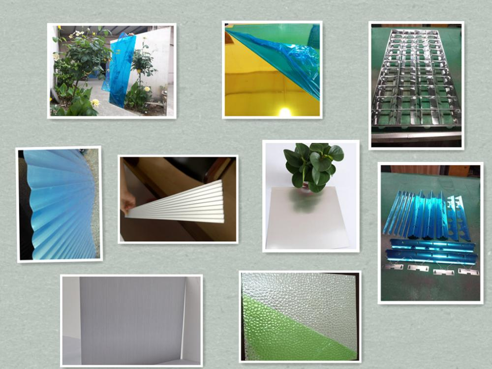polished anodized aluminum sheets