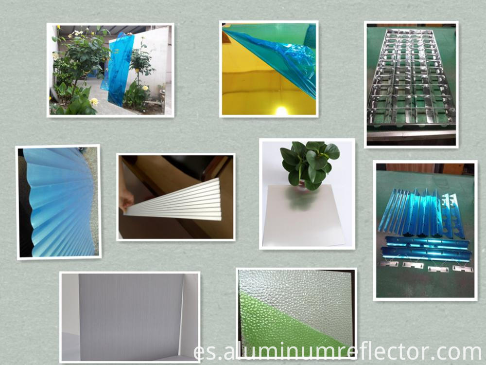 Aluminum sheet roll family products