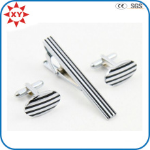 Factory Direct Sell Wholesale Cufflinks with Tie Clip