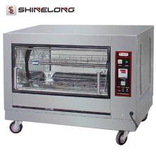 Machine de rôtisserie de poulet de gaz de rôtissoire de luxe d'équipement d'hôtel de four de volaille de luxe de rôtissoire
