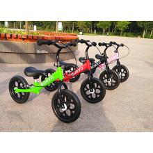2017 Venta Caliente Mejores Regalos 16 Pulgadas Niños Juguetes Mini Bicicleta Bebé Equilibrio Bicicleta