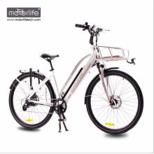 1000w BAFANG mid drive Morden Design bicicleta eléctrica de la ciudad hecha en China, 36v350w motorizada bicicleta