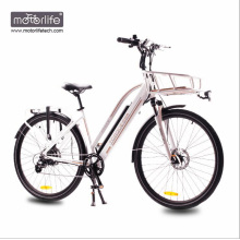 Bicicleta elétrica da cidade do projeto meados de Morden da movimentação de 1000w BAFANG feita em China, bicicleta motorizada 36v350w