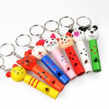 FQ Marke einzigartige gravierte personalisierte Whistle hölzerne benutzerdefinierte beliebte Schlüsselbund