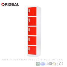 Armario de almacenamiento de acero del proveedor de China de Orizeal para el patio del centro de deporte Armarios de acero usados para la venta (OZ-OLK007)
