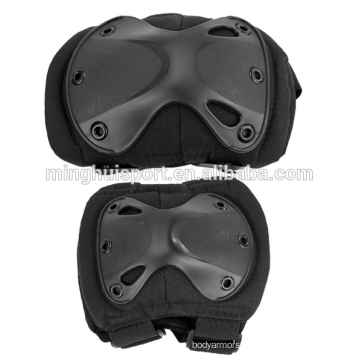 New Arrival Durable Airsoft Tactical Knee and Elbow Protector Pads for Kids and teenage Knee Pads New Arrival Durable Airsoft Tactical Knee and Elbow Protector Pads Set for Kids and teenage  Knee Pads  Black