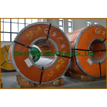 Superfície escovada de aço inoxidável do revestimento das bobinas 310S