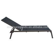 Outdoor aluminum garden pool lounger