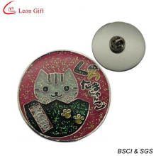 Wholesale Novelty Glitter Enamel Cartoon Badge (LM1735)