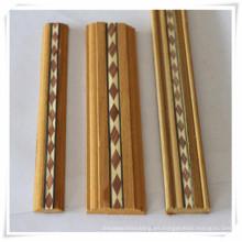 diseño de incrustaciones de zócalo de madera