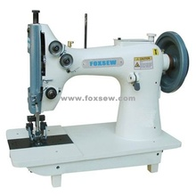 Double Needle Mocca Sewing Machine for Extra Heavy Duty